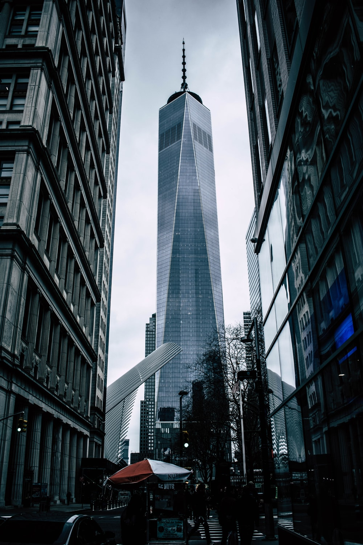gray concrete high rise building
