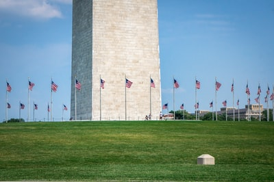 people standing on green grass field near gray concrete tower during daytime washington monument zoom background