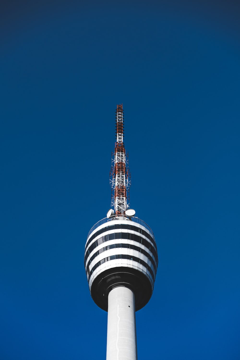 white and black tower under blue sky during daytime
