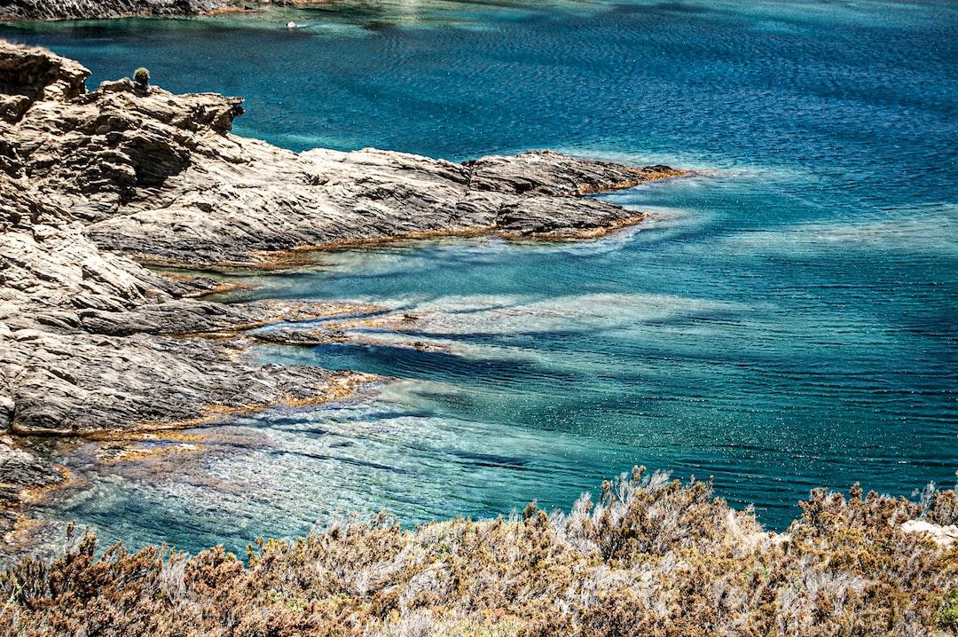 Mediterranean crystal-clear coast