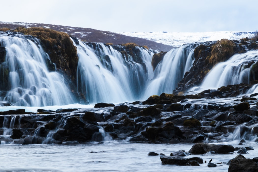 Bruarfoss Waterfall, Best places to visit in Reykjavik