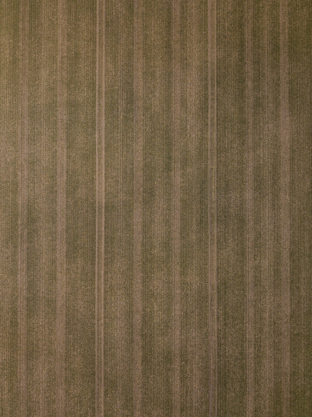 brown and gray striped textile