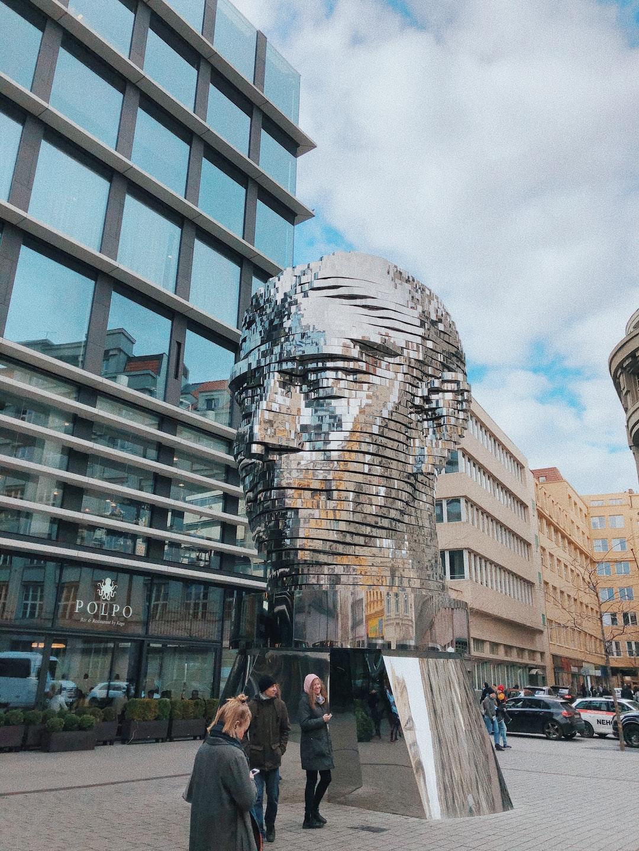 Head of Kafka, Prague, Czechia