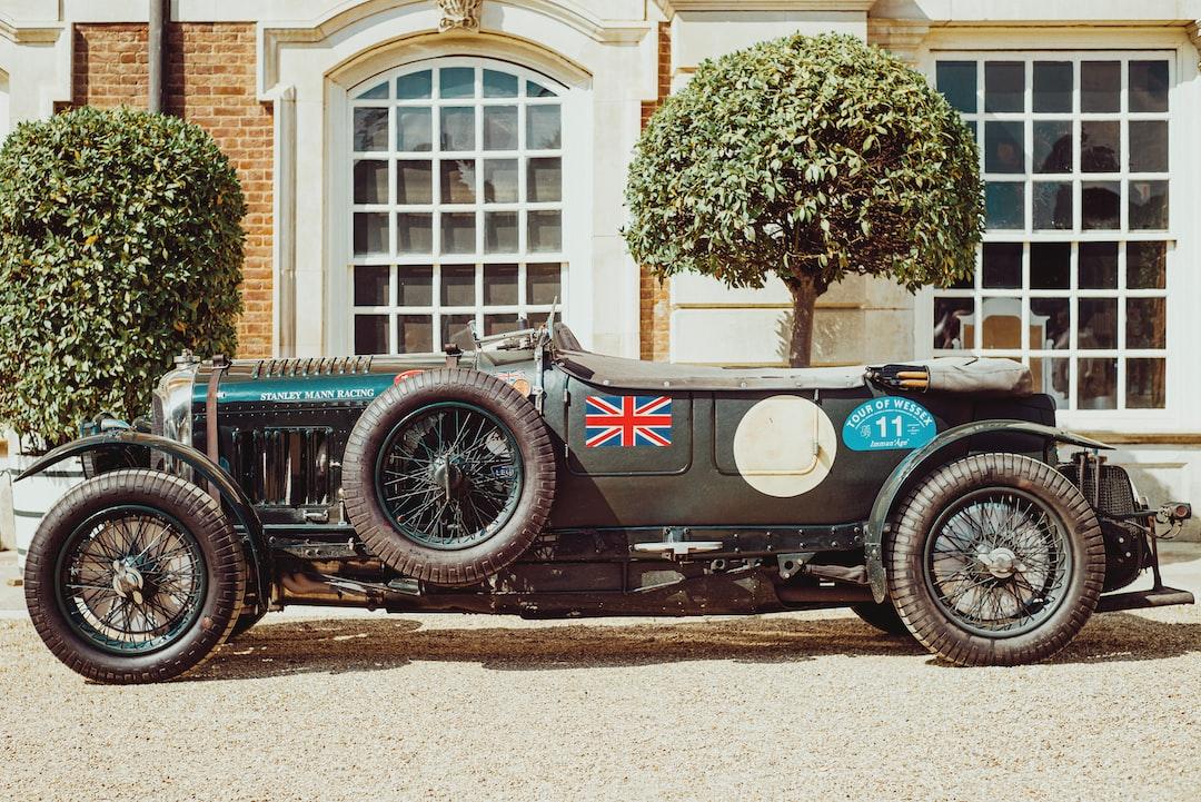 Vintage Bentley racing car from Stanley Mann Racing