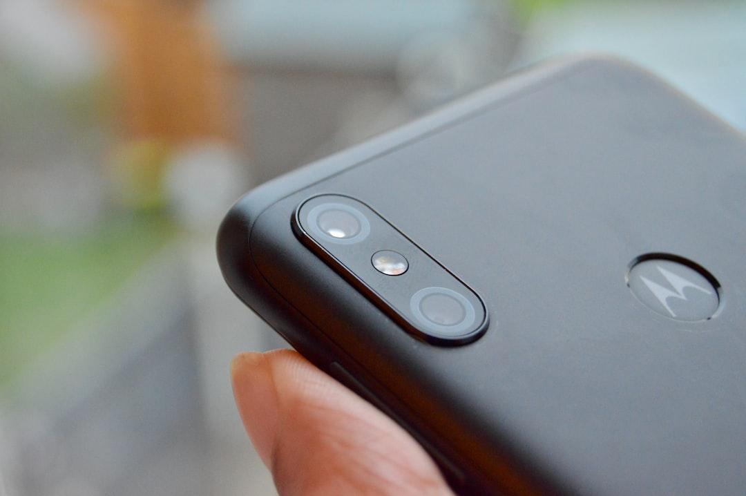 Motorola smartphone!