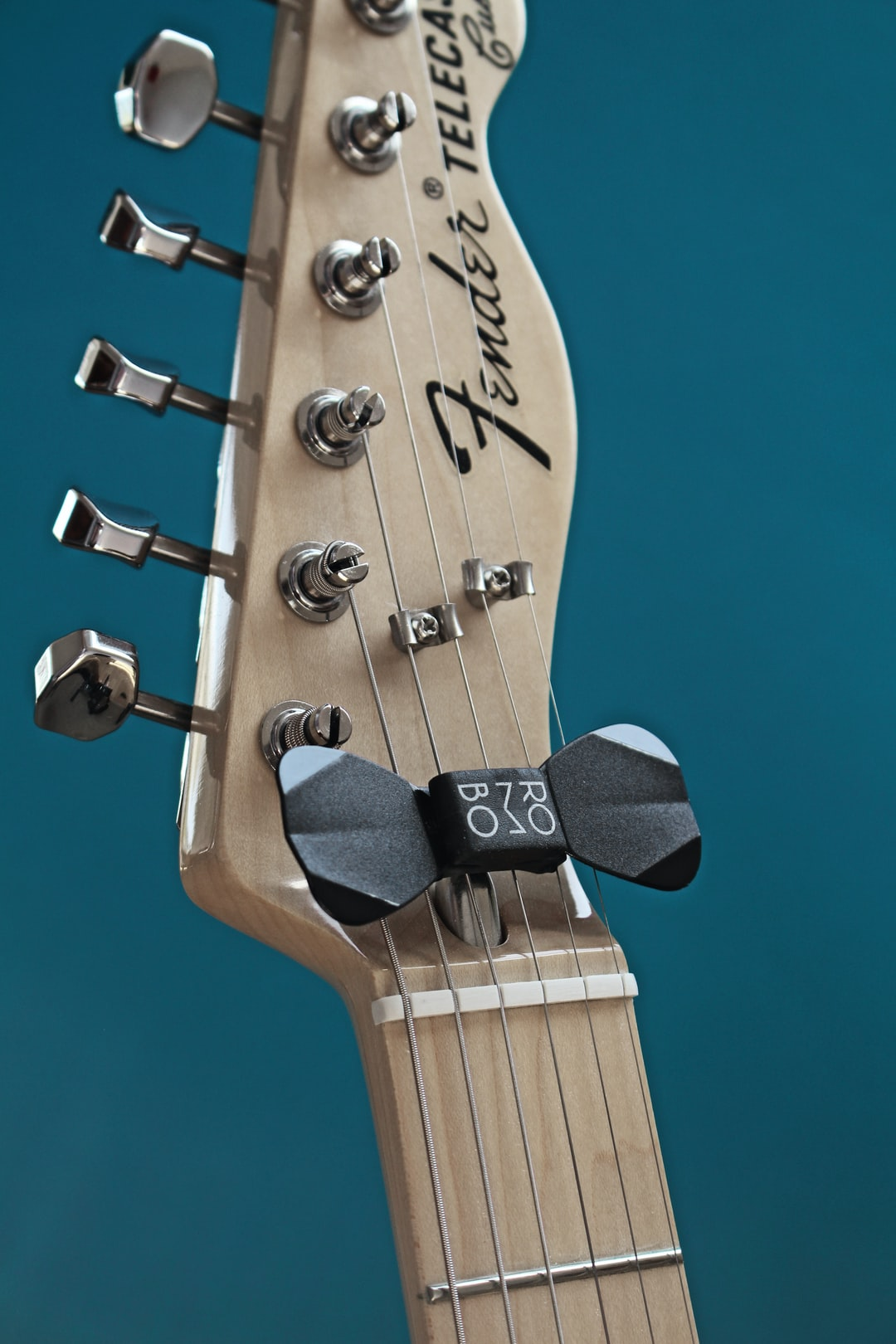 Guitar and guitar pick holder with picks