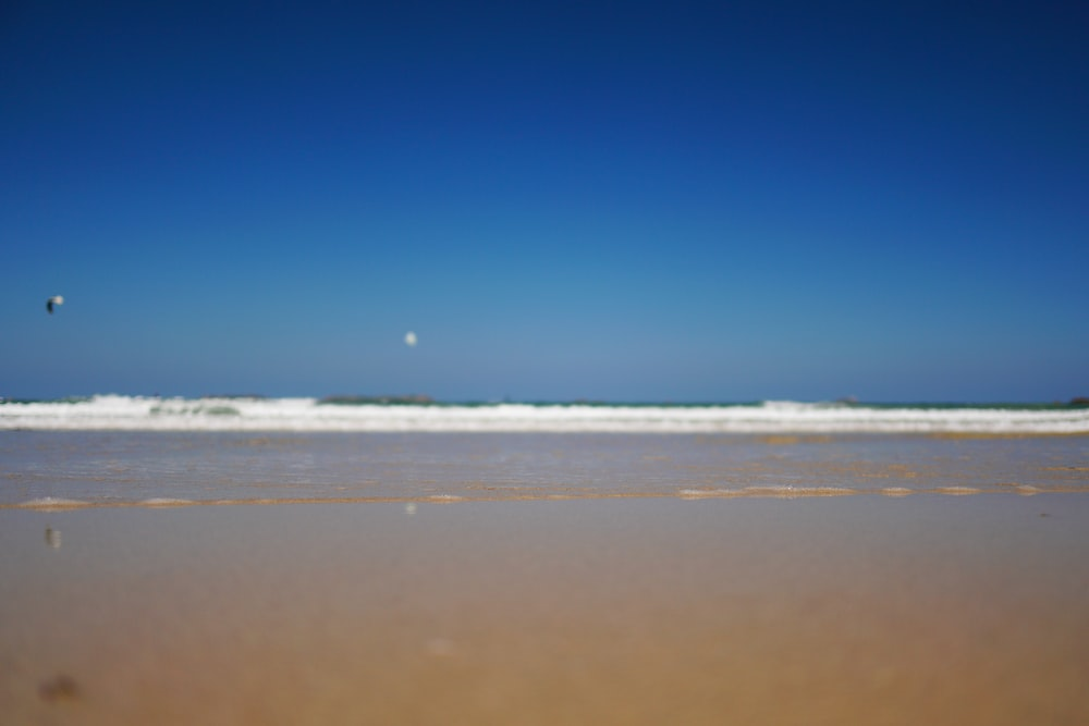 blue sky over beach during daytime
