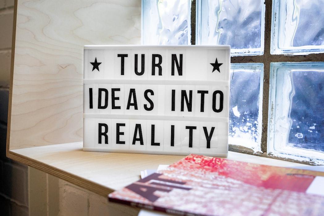 Motivational Signage that says