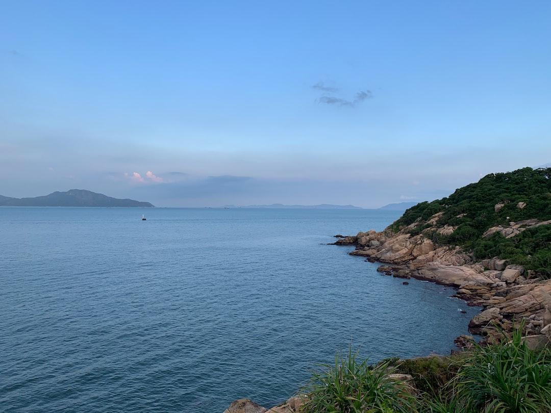 Relaxing sea view in Hong Kong