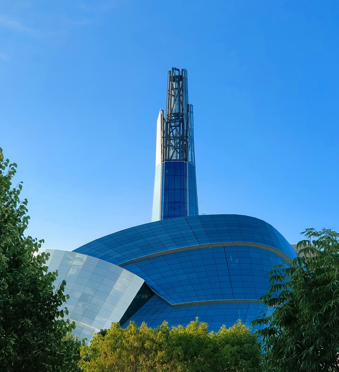 The beautiful Museum of Human Rights in Winnipeg, Canada.