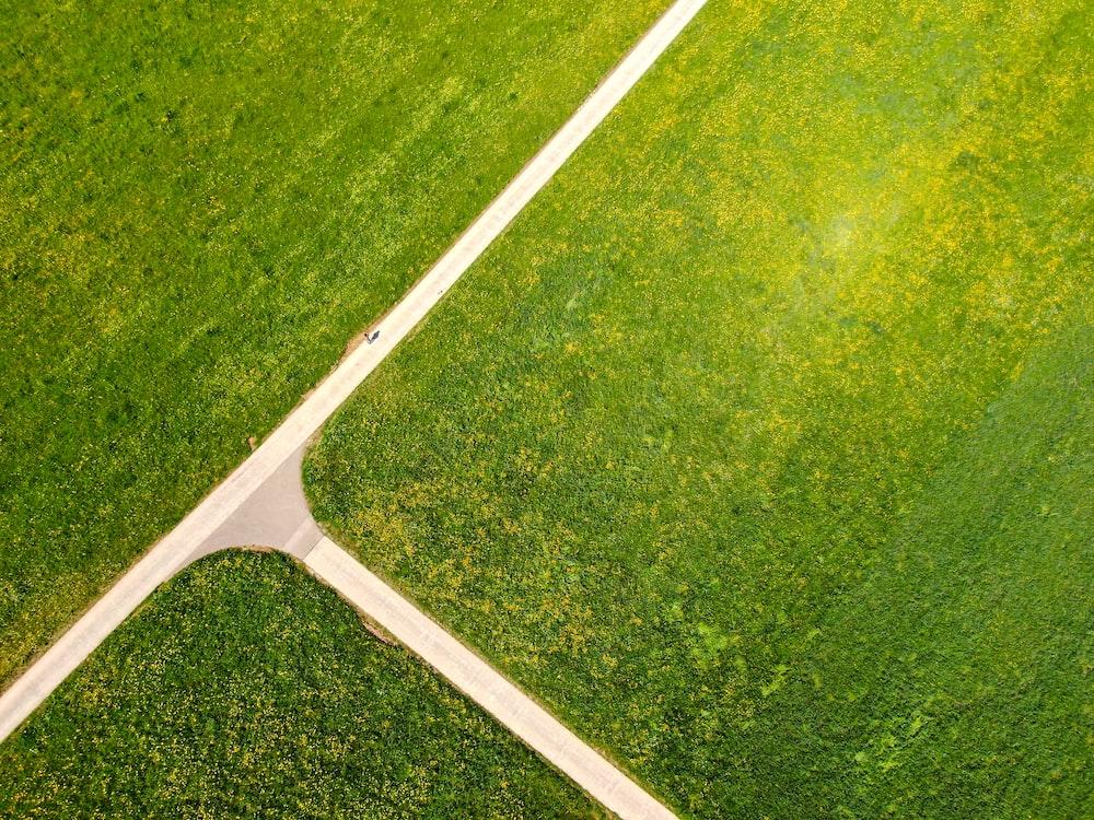 white metal bar on green grass field