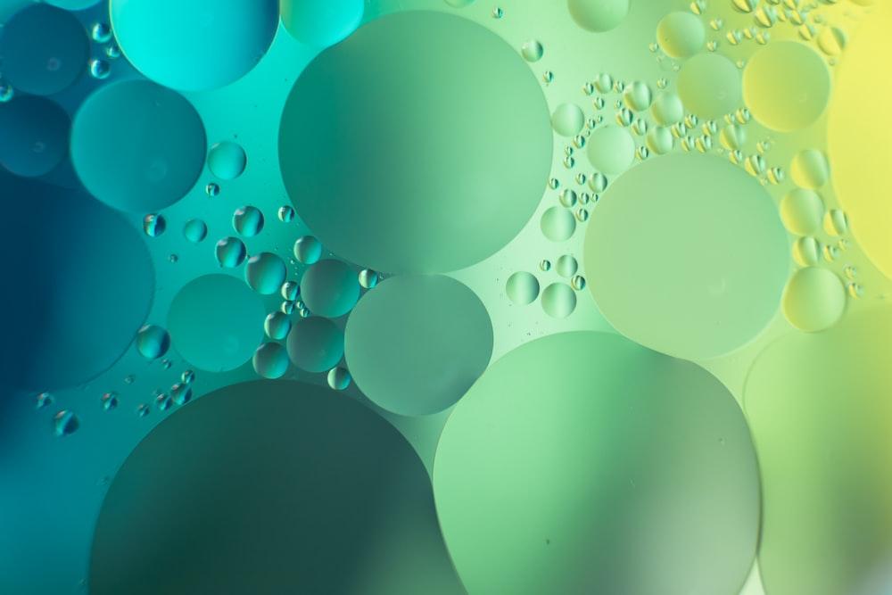 blue and white polka dot illustration