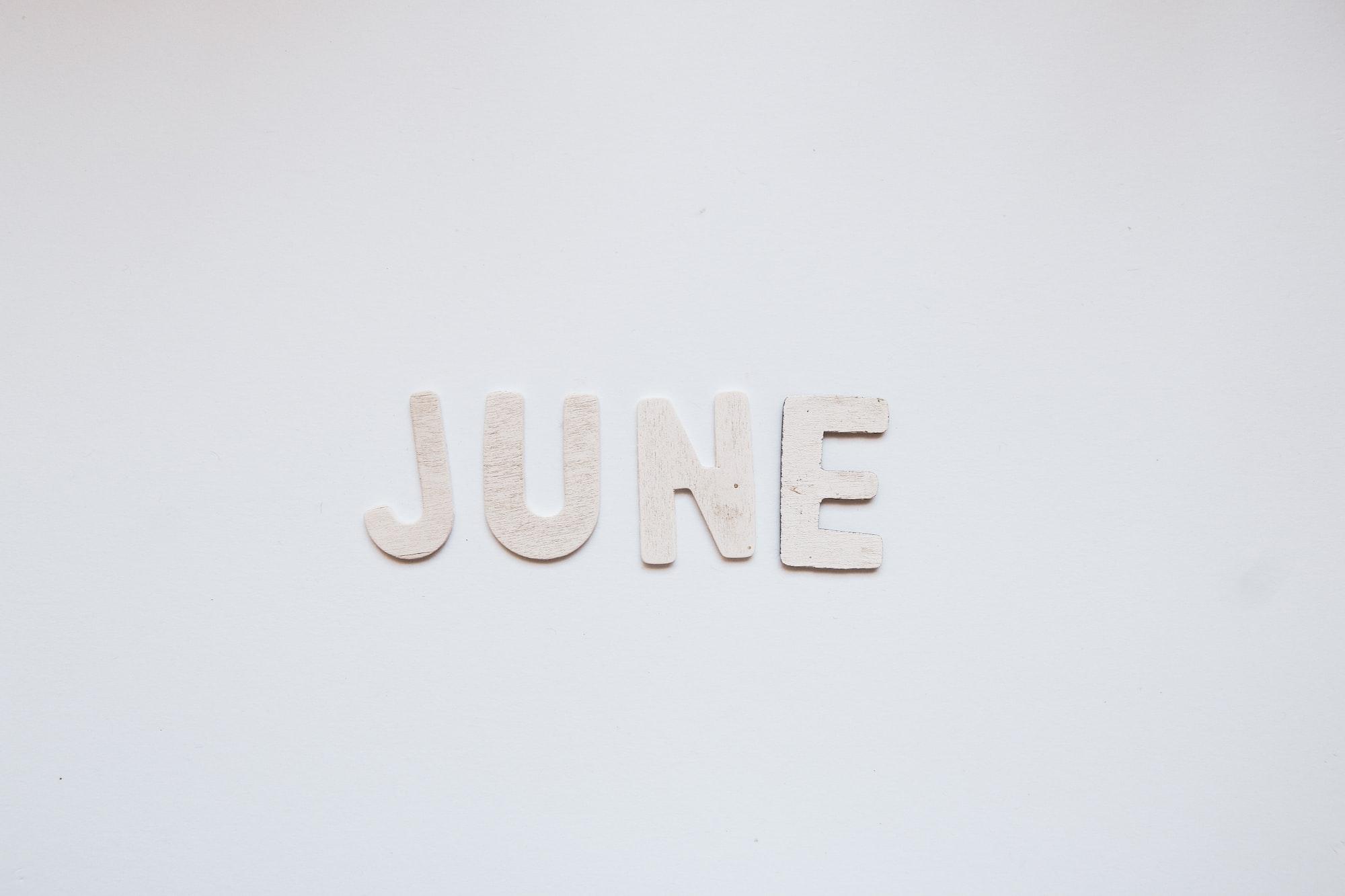 心情寫照 June 2021