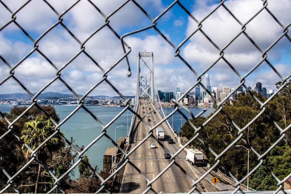 grey metal bridge during daytime
