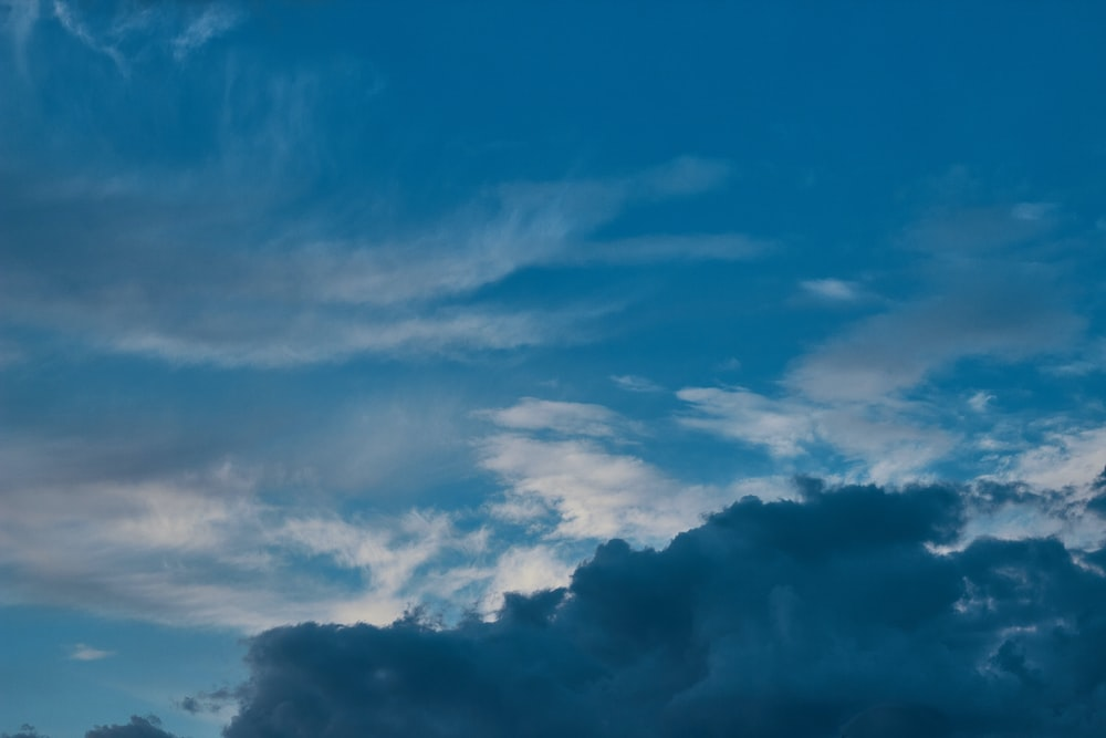 blue and white cloudy sky during daytime