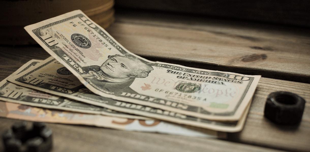 10 us dollar bill