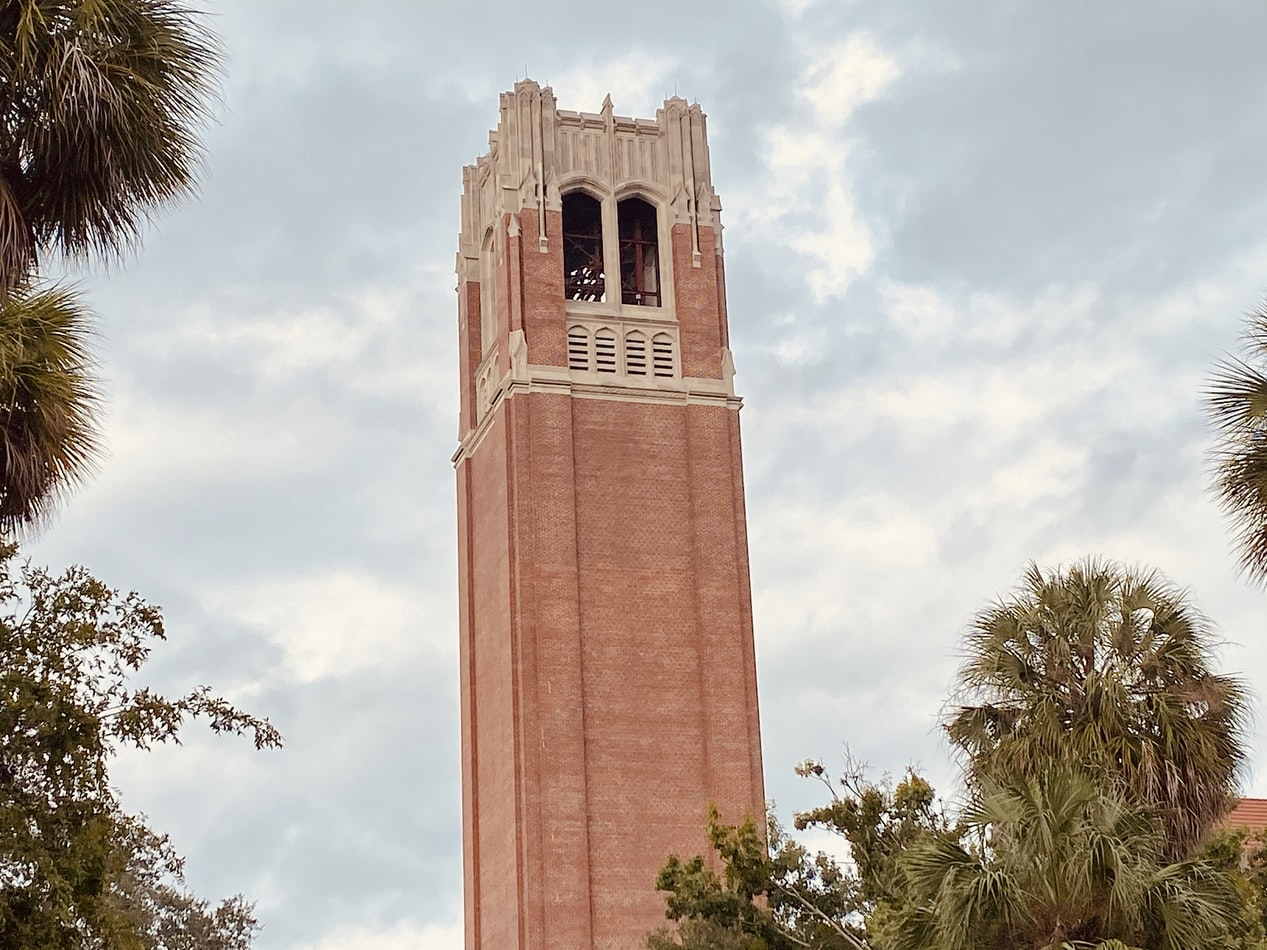 tower at University of Florida in Gainesville