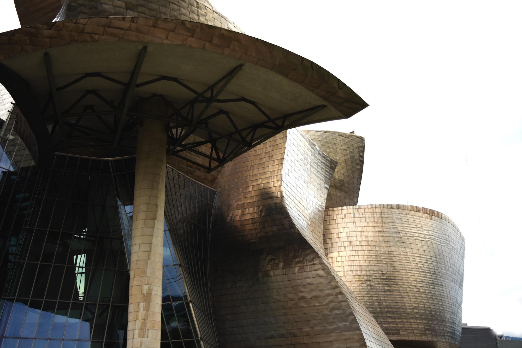 El Guggenheim, en Bilbao.