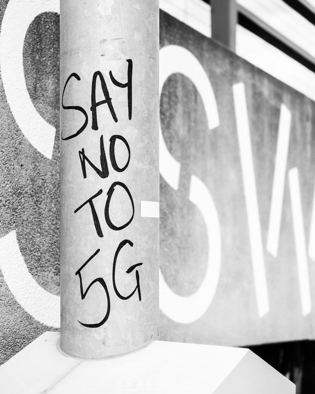 5G Graffiti in East London