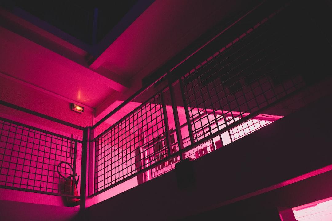 Neon swimming pool #2