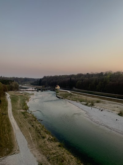 Munich during Sunset