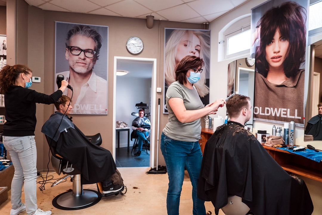 Hair dressers are open again - it almost seems a marathon to creatively fit customers.