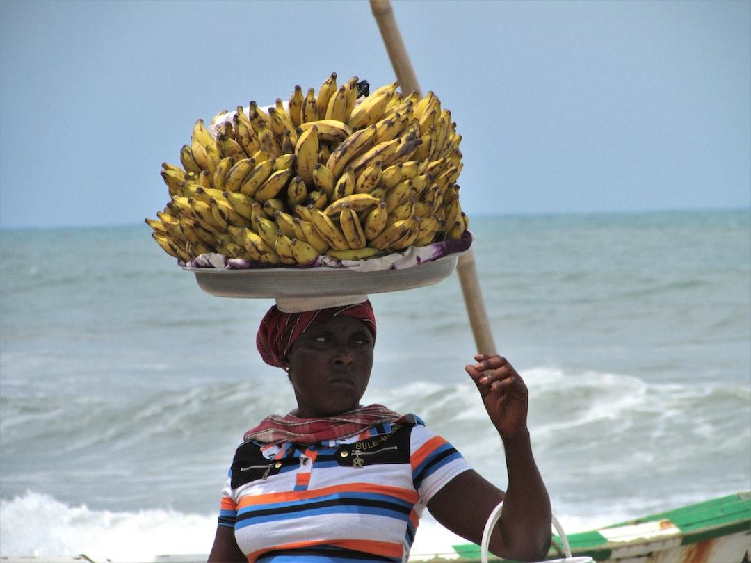 bananas seller @Ghana