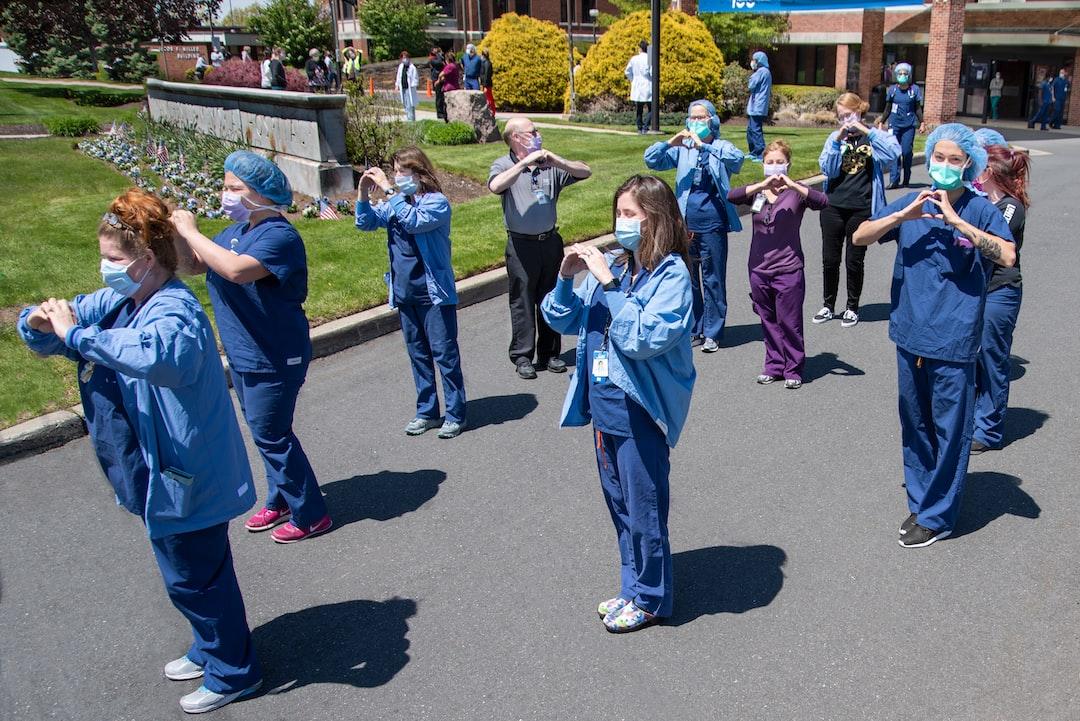 COVID-19 Nurses & Therapists at Manchester Memorial Hospital (May 2020)