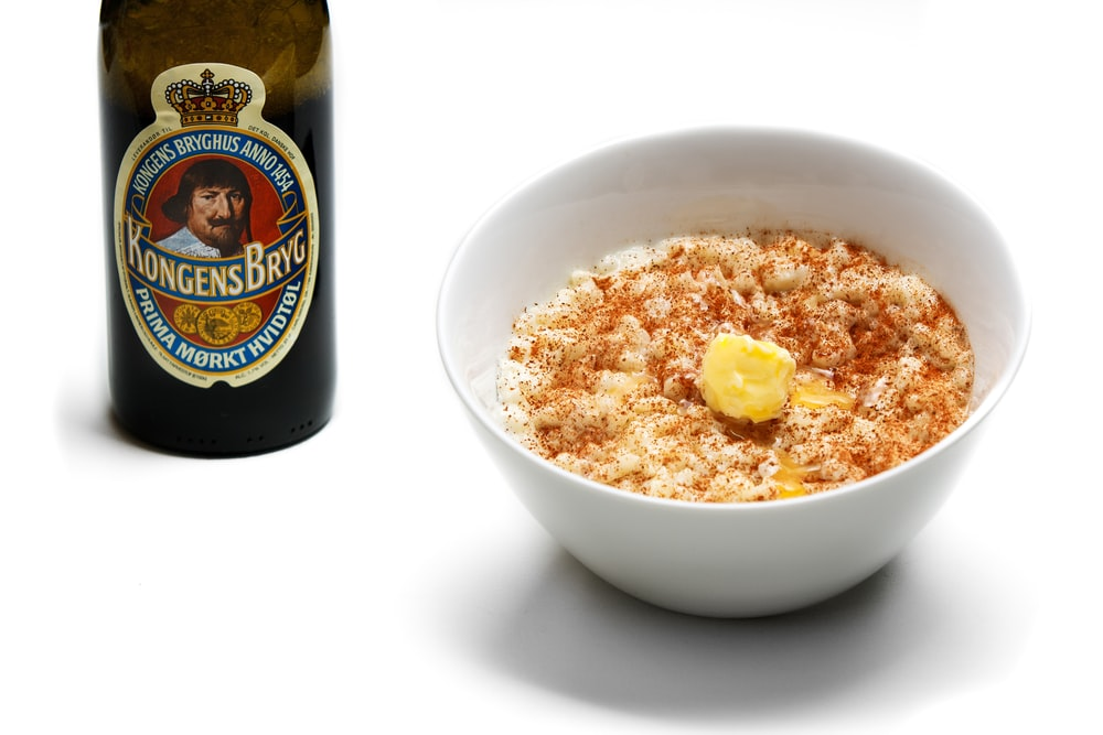 white ceramic bowl with popcorn