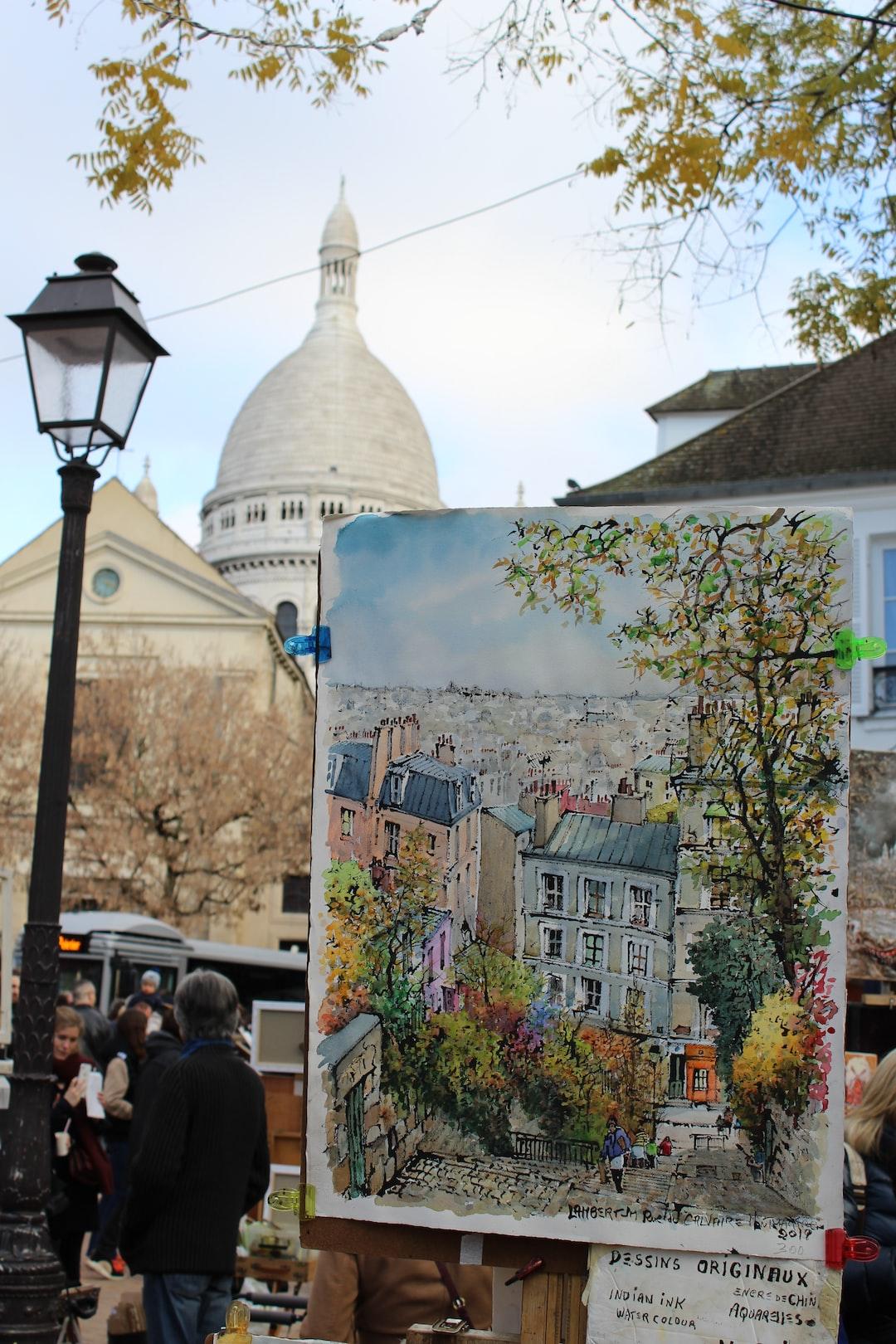 #Paris #SacreCoeur #Montmartre