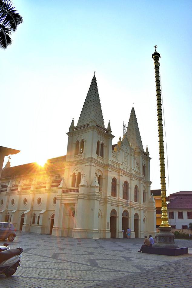 Santa Cruz Cathedral Basilica Fort Kochi