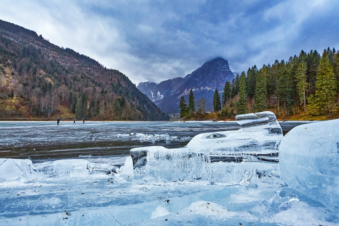 Ice age in the Swiss alps