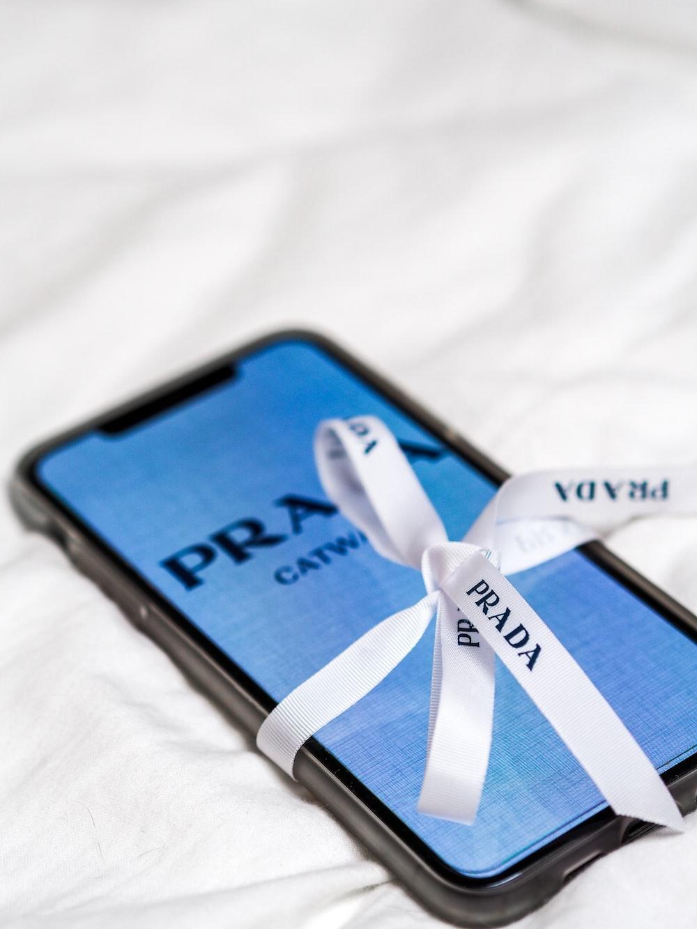 black and blue smartphone case