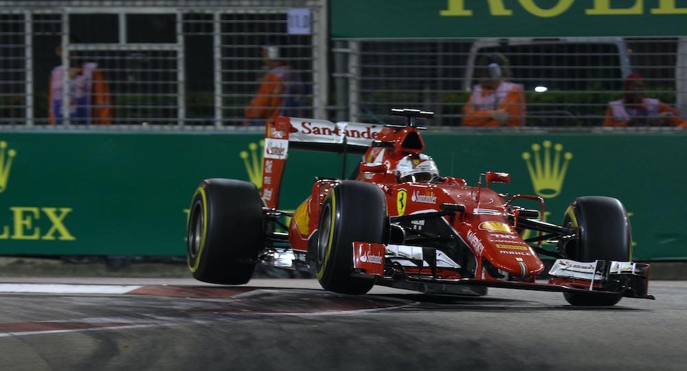 Формула 1 и болид на Ферари