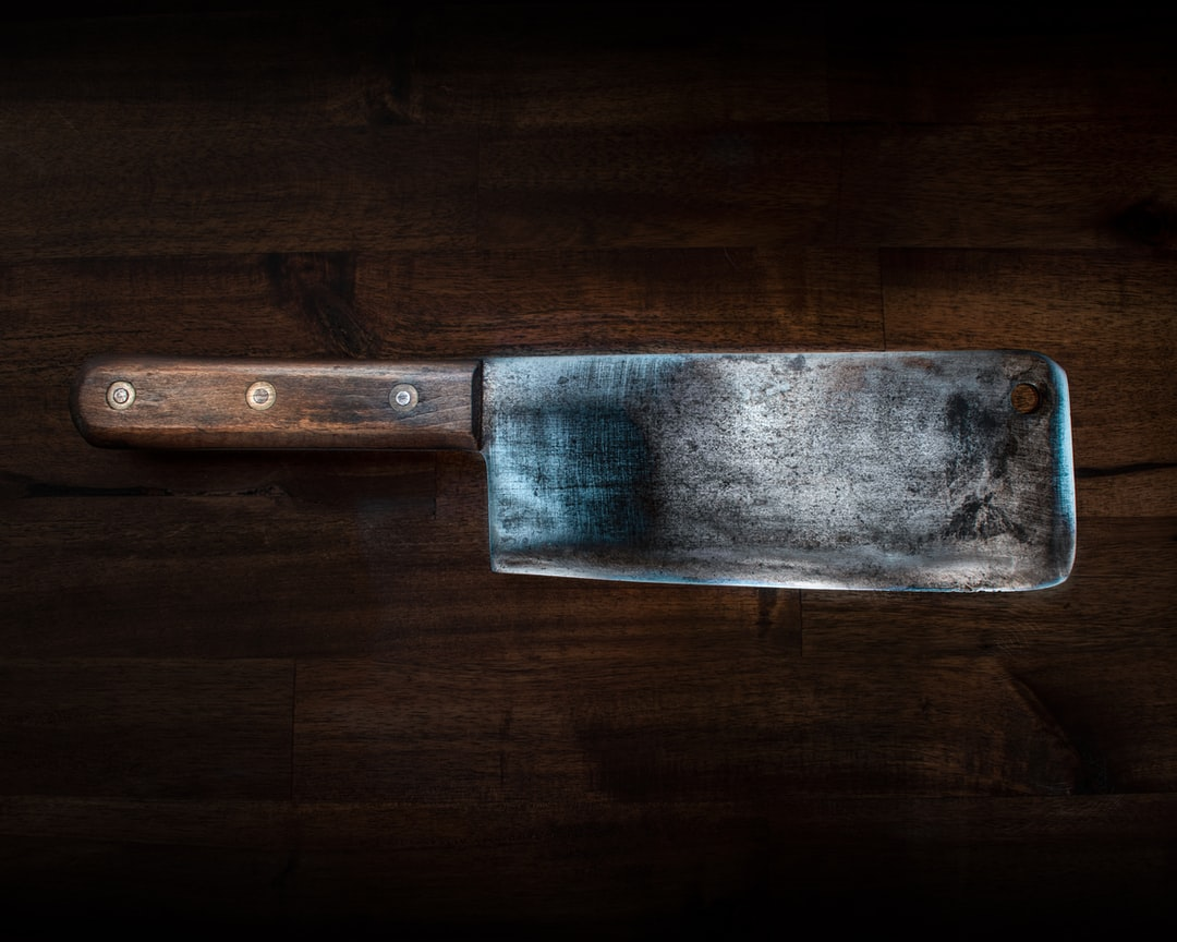 Meat Axe Cleaver Knife