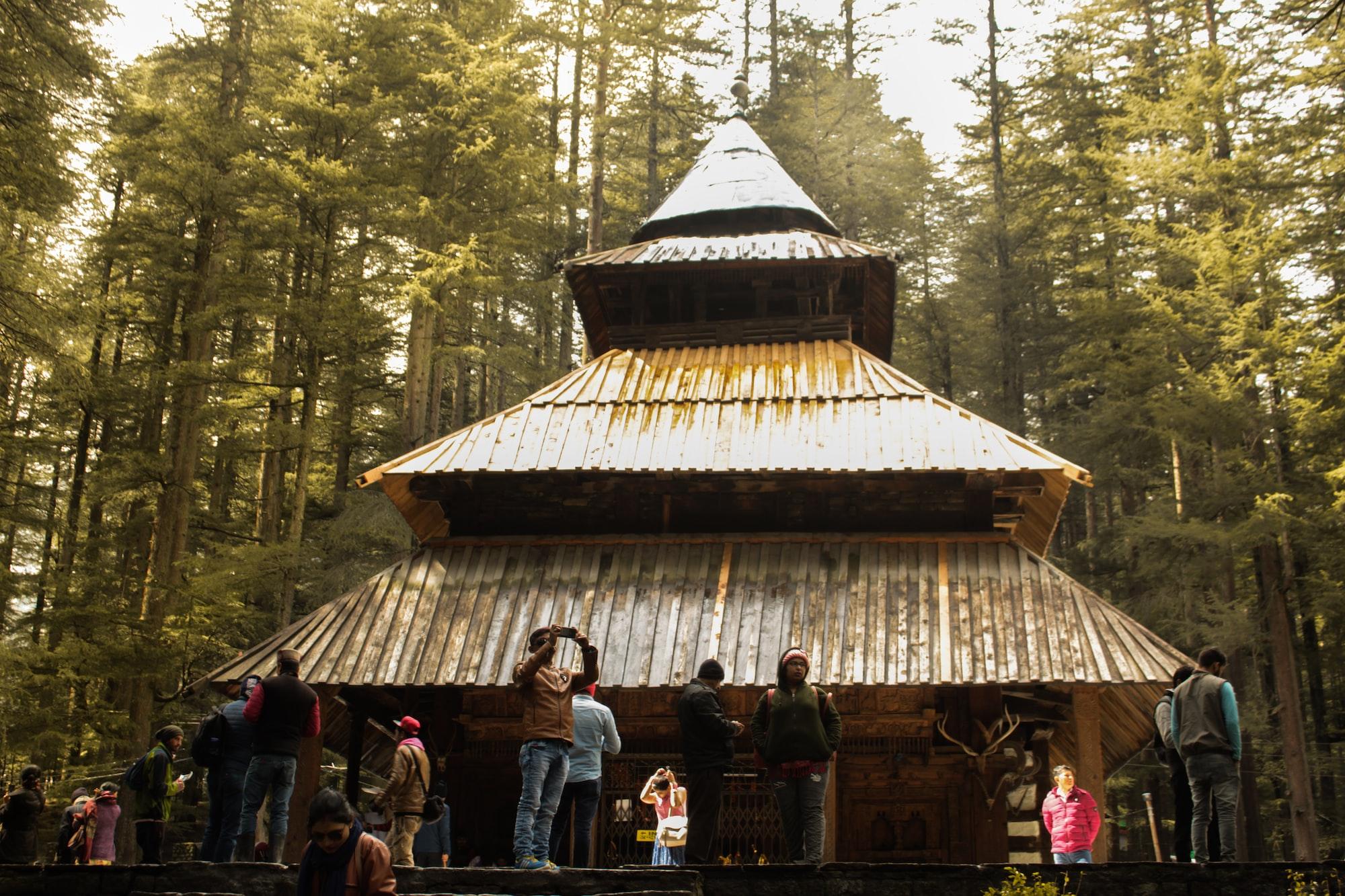 Hadimba Temple in India