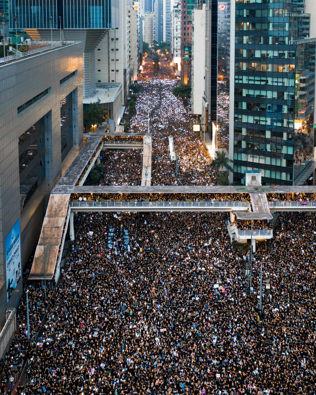 2 million people protesting in Hong Kong on 16 June 2019