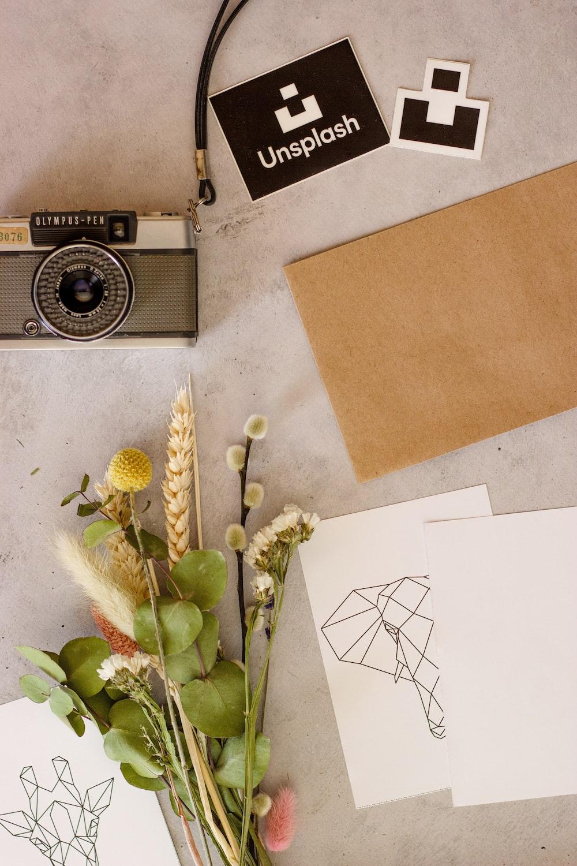 white printer paper on brown cardboard box