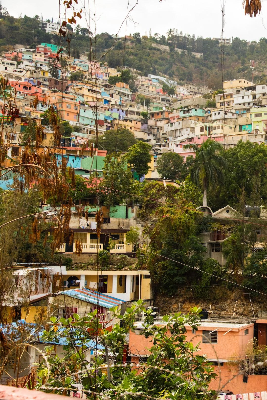 Coastal Hillside - Haiti