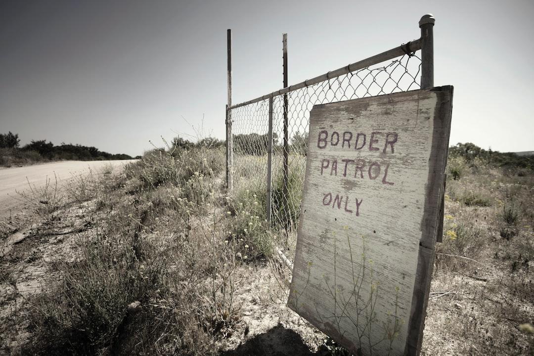 Near the US-Mexican border in Campo, California.
