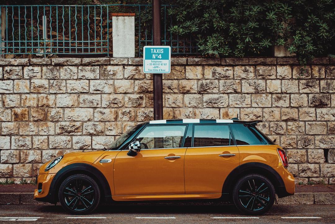 Orange Mini Cooper  See more of Aleks Marinkovic's work at http://aleksmarinkovic.com and on instagram http://instagram.com/baronmarinkovic