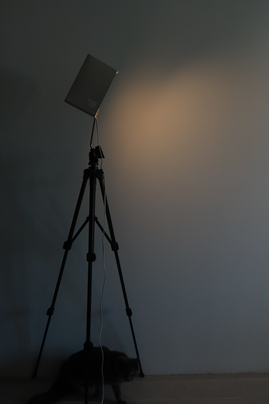 Concept of tripod light