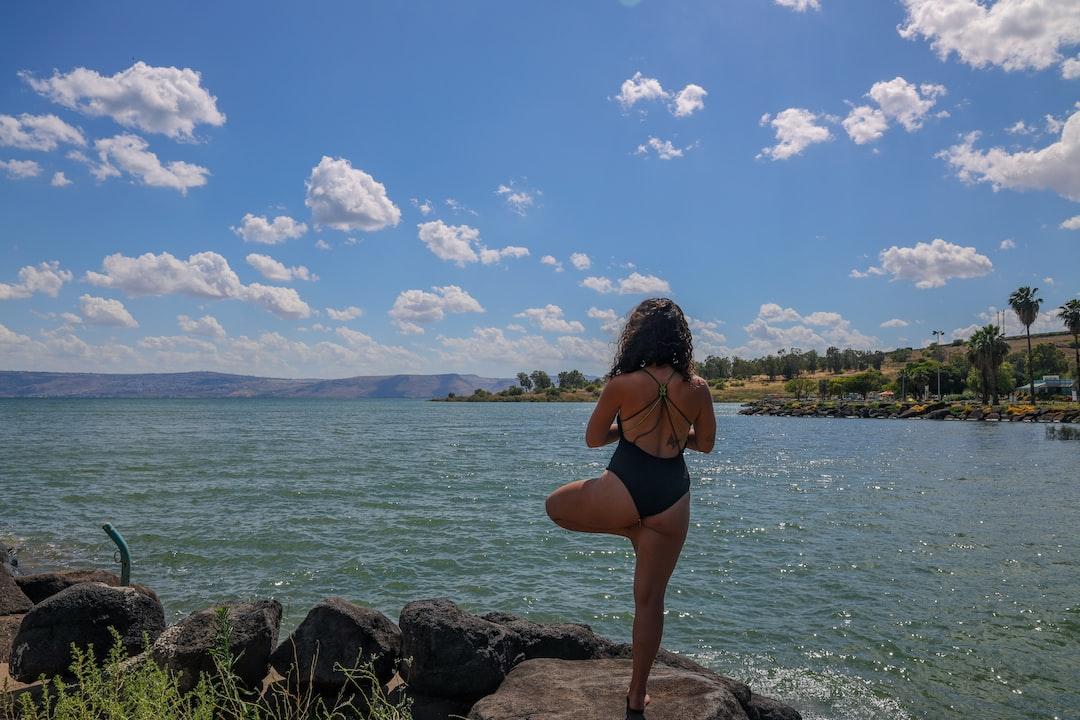 Meditation time @Sea of Galilee, Israel