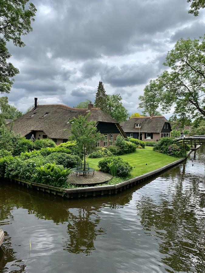 Giethoorn - Romantic town in Europe