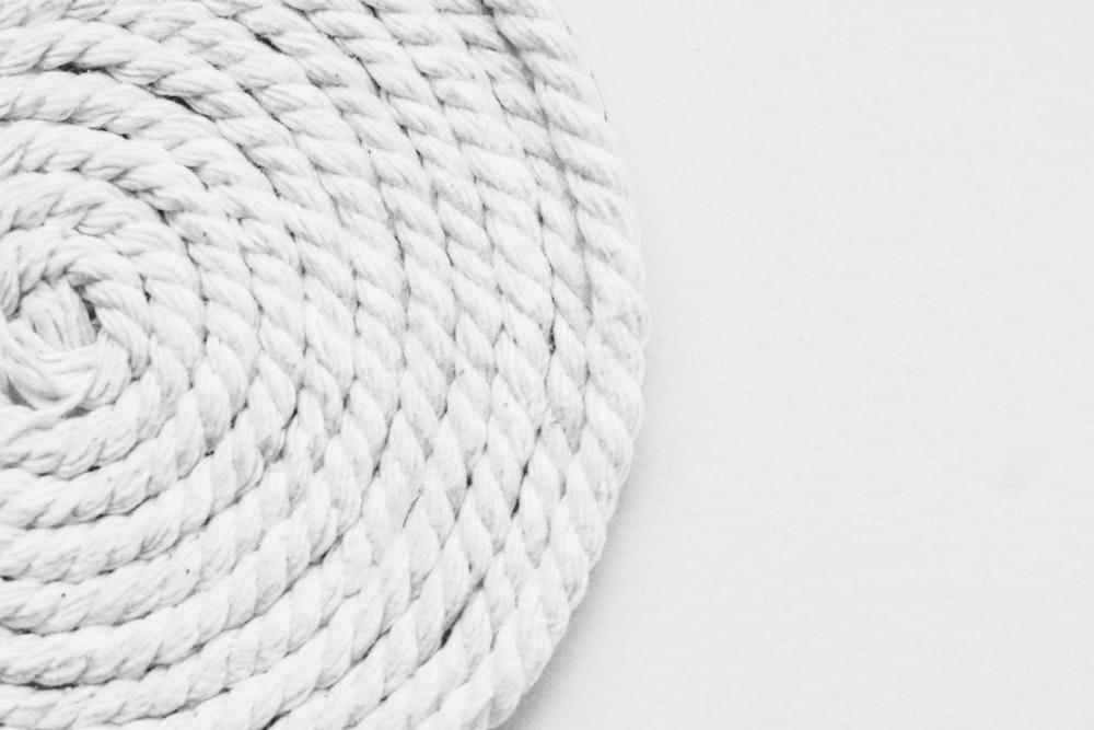 white round woven round basket