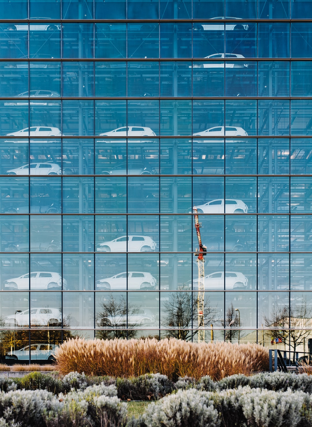 The VW Transparent Factory in Dresden, Germany