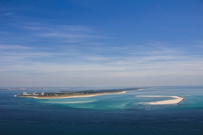 blue sea under blue sky during daytime solomon islands zoom background