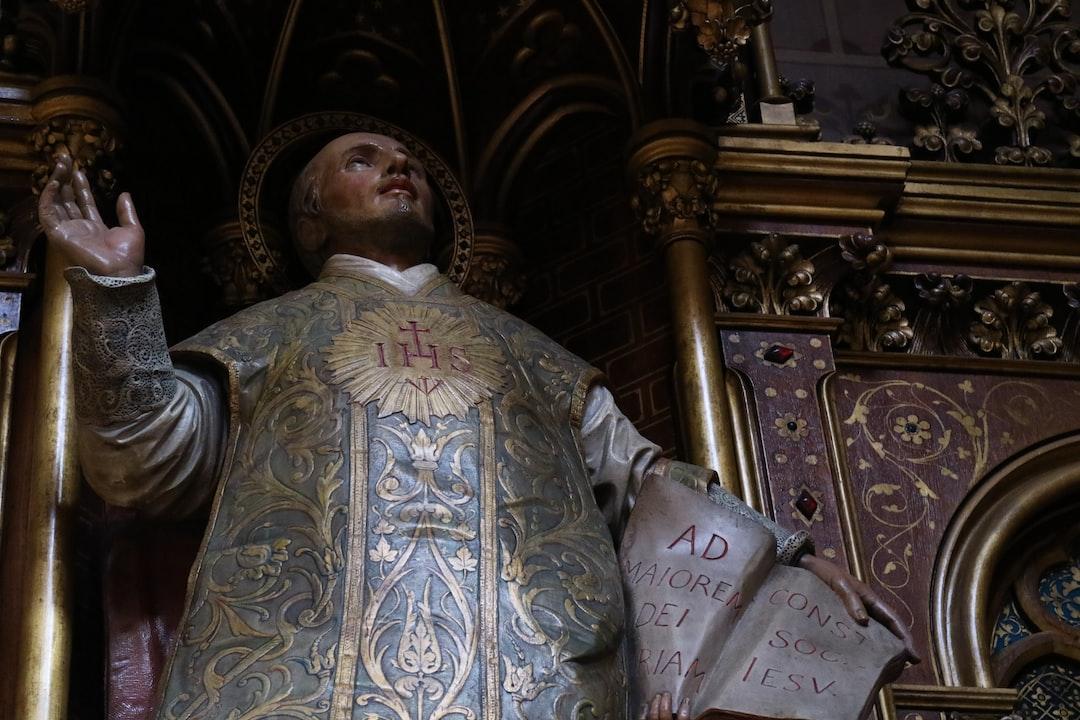 Saint Ignatius in Paris.
