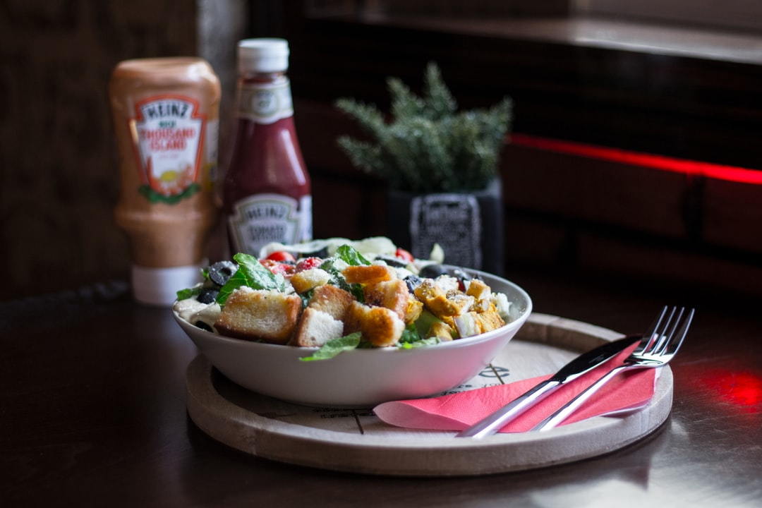 caesar salad, cafe naderi