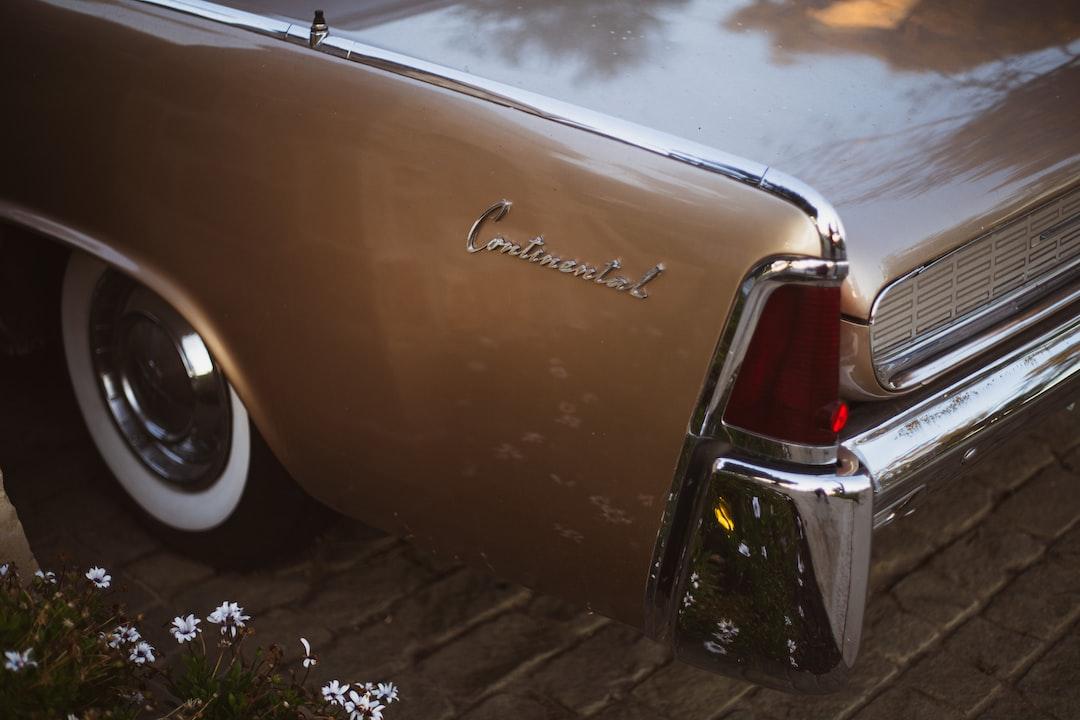 A Lincoln Continental in Huntington Beach.